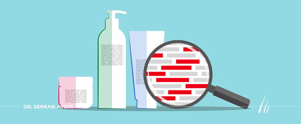 Ingrédients nocifs dans les produits capillaires