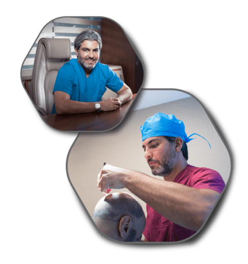 Dr. Serkan Aygın doing operation