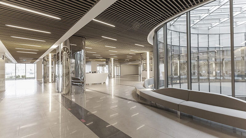 koc univ interiorprestigious hospital in turkey