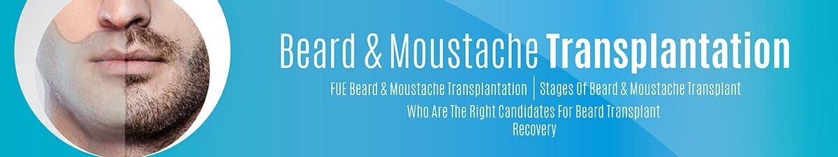 EN Beard & Moustache Transplantation