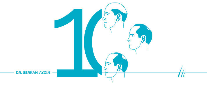 Dünya Genelinde En Sık Karşılaşılan 10 Saç Dökülmesi Tipi