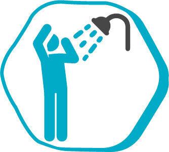 символ о принятие душа перед операции