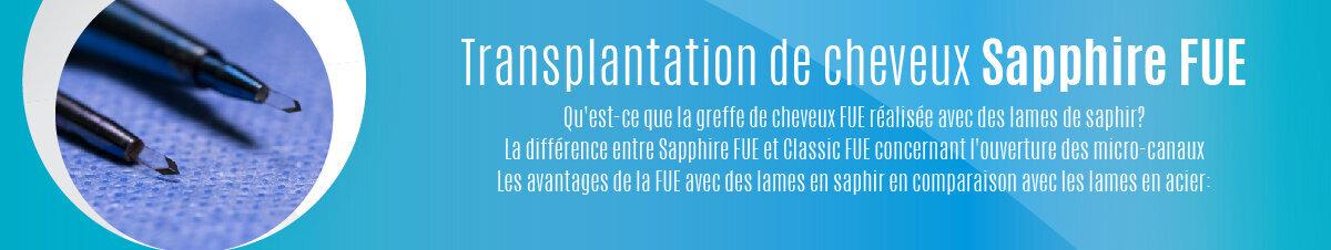 Transplantation de cheveux Sapphire FUE-01
