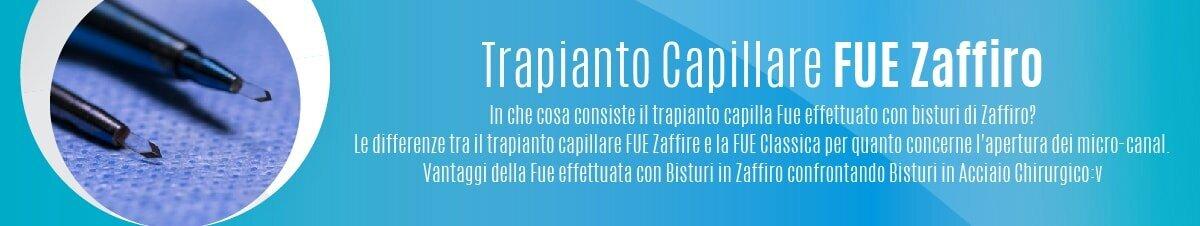 Trapianto Capillare FUE Zaffiro-01