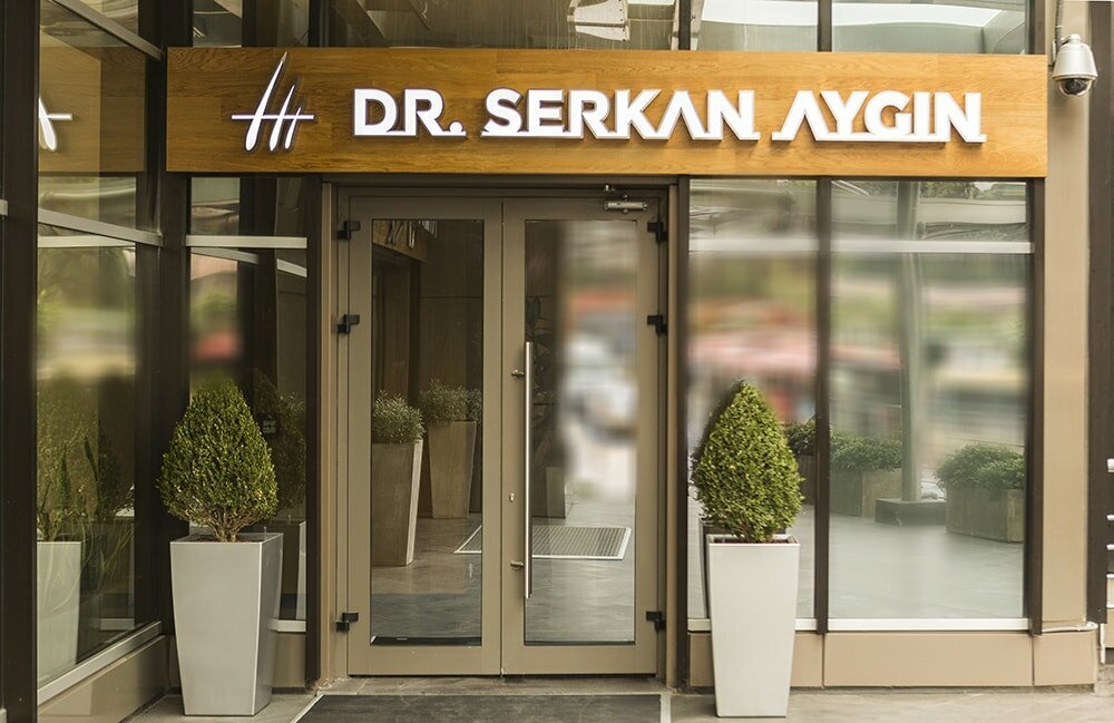 Dr. Serkan Aygin Clinic Entrance