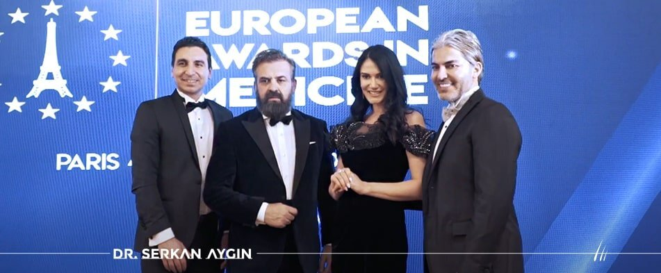 """The Story of How Dr. Serkan Aygin Received """"Europe's Best Hair Transplant Surgeon Award"""""""